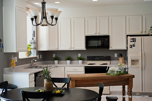 Elephant skin and white dove gray kitchen favorite paint colors blog - Behr kitchen paint colors ...