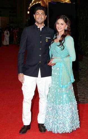 Ahana Deol & Vaibhav Vora's grand sangeet ceremony