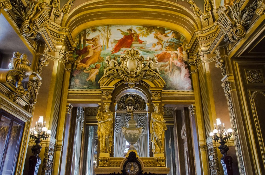 Opéra Garnier - grand foyer