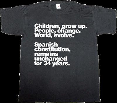 spain is different useless spanish politics useless kingdoms catalonia independence freedom t-shirt ephemeral-t-shirts
