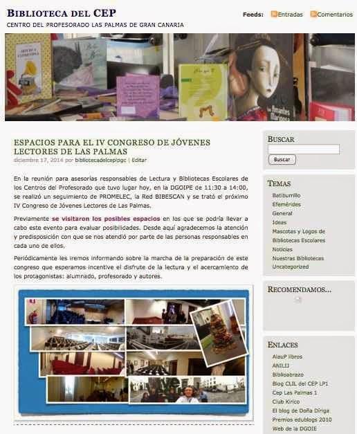 https://bibliotecadelcep.wordpress.com/2014/12/17/espacios-para-el-iv-congreso-de-jovenes-lectores-de-las-palmas/