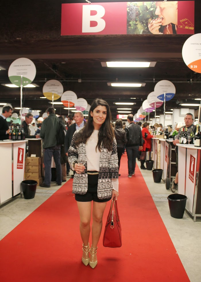 fashion blog, fashion blogger, wine tasting, salon des vignerons independants, feria vino, paris, espace champerret