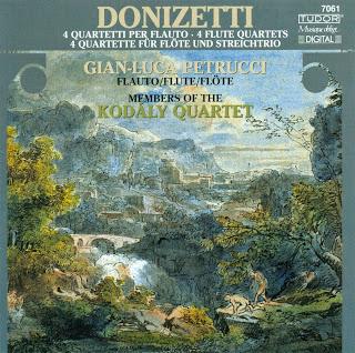 Donizetti, G.: Flute Quartets Nos. 6, 7, 9, And 16