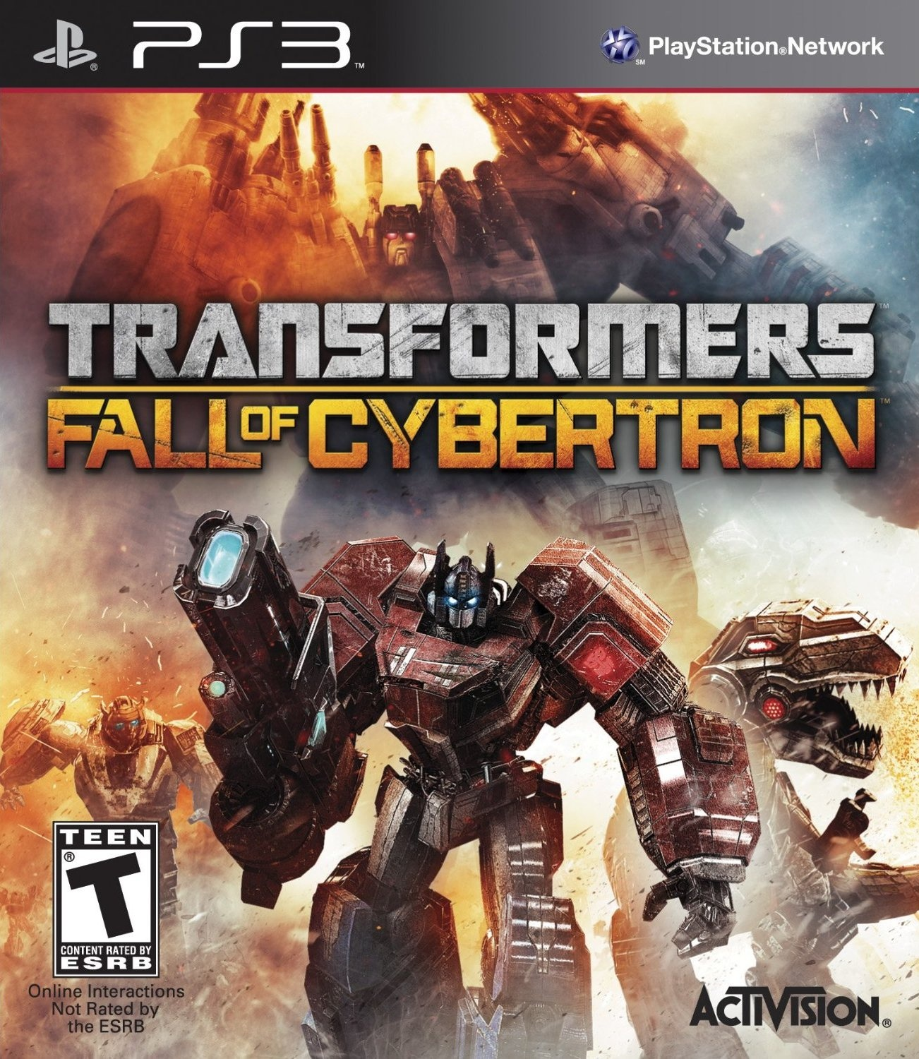 the geeky guide to nearly everything games transformers fall of cybertron ps3. Black Bedroom Furniture Sets. Home Design Ideas