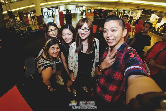 #TCSelfie with Jess Lee, Ben Dan, Janice Yeap and Jenifer Furfer