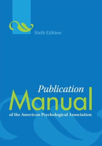 american psychological association reference style
