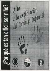 PON UN ALTO A LA EXPLOTACION INFANTIL.