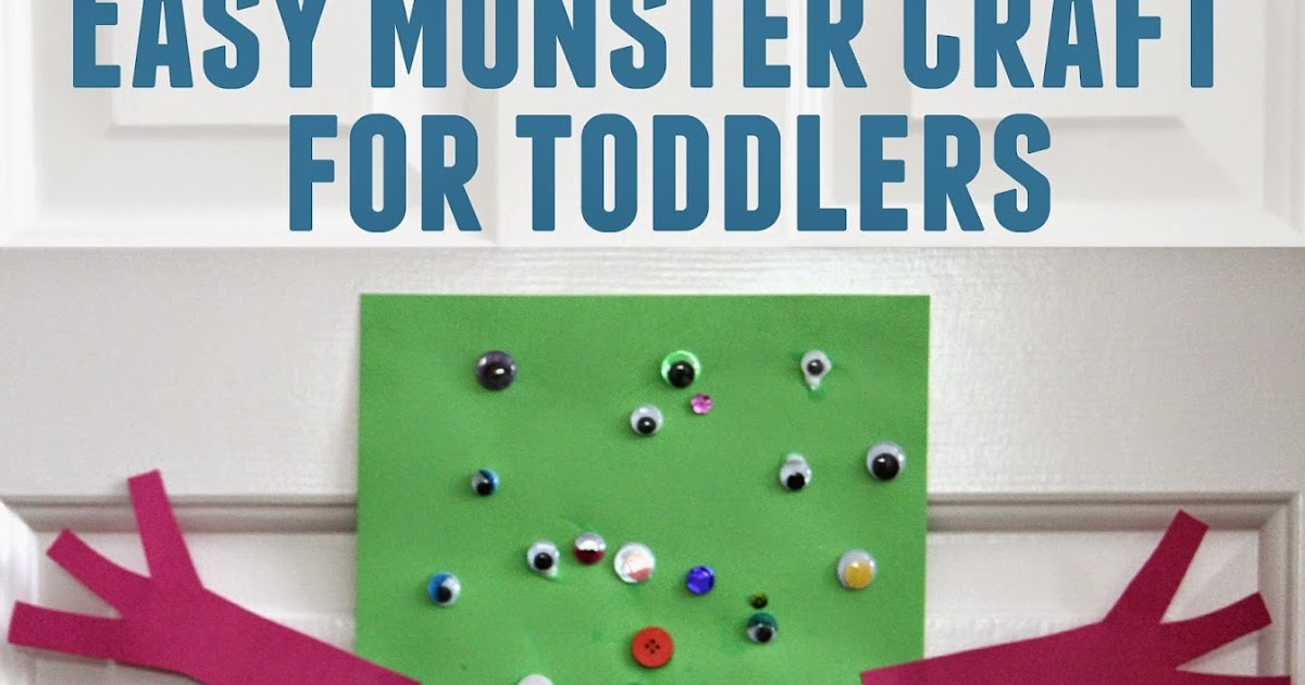 Easy Crafts To Do At Home With Toddlers