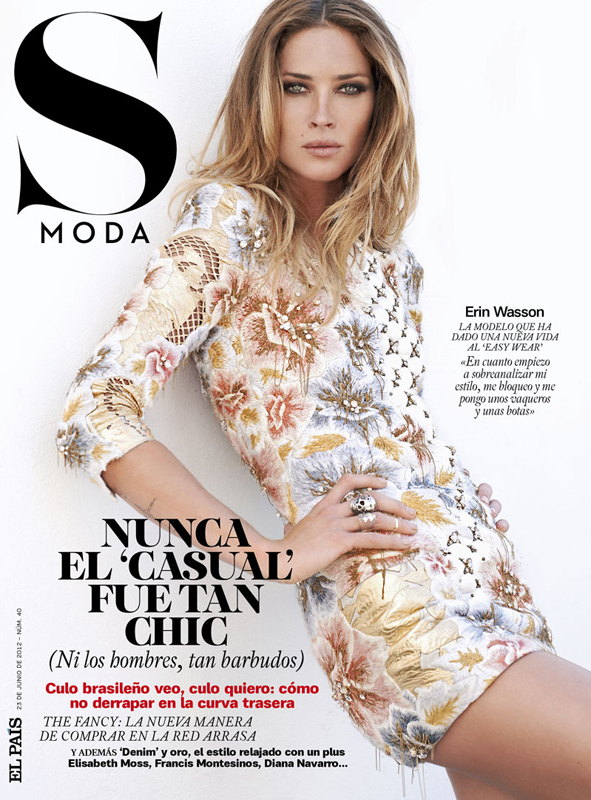 S Mode June 2012: Erin Wasson by Eric Guillemain