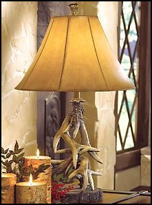 Antler Lighting and bear lamps