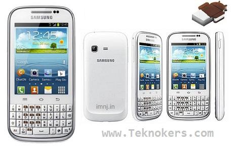 samsung chat, gambar dan foto ponsel seri galaxy chat, smartphone