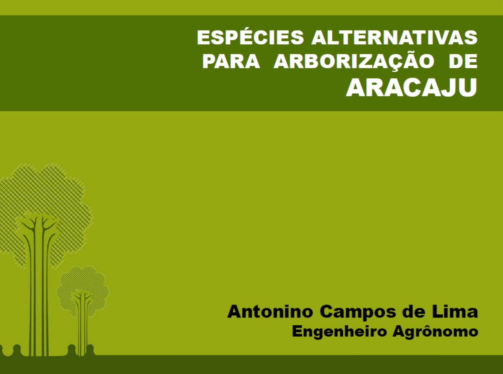 Slide II Seminário de Arborização de Aracaju