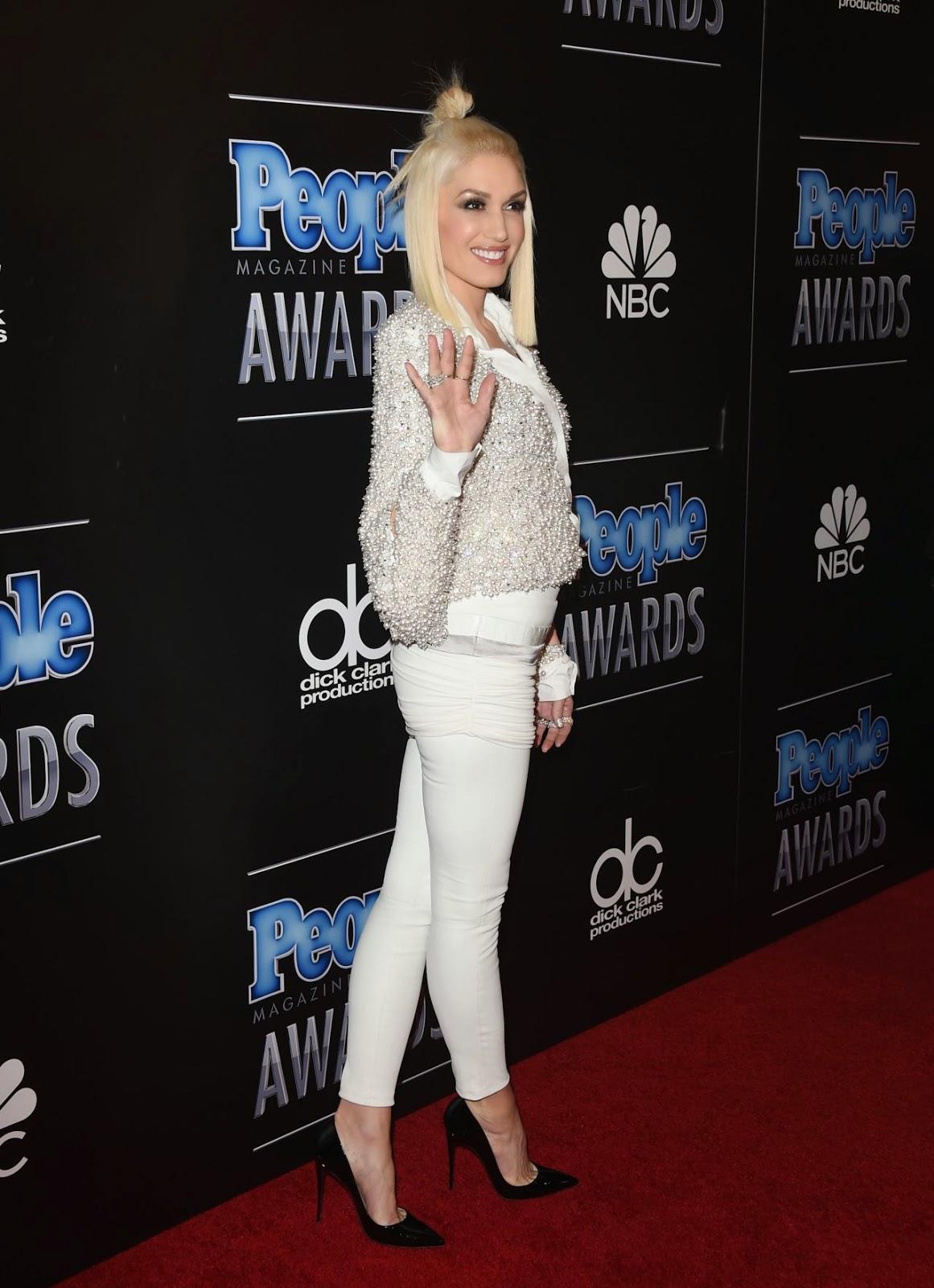 Gwen Stefani – 2014 PEOPLE Magazine Awards in Beverly Hills