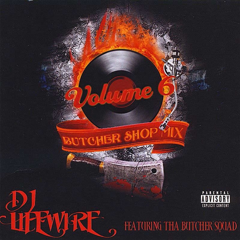 DJ Live Wire - Vol. 6 The Butcher Shop Mix (1994) 320 kbps