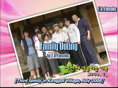 Family Outing Season 1 Episode 5 Full English Subtitle at Kanggol Village