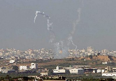 Rocket attacks on Sderot