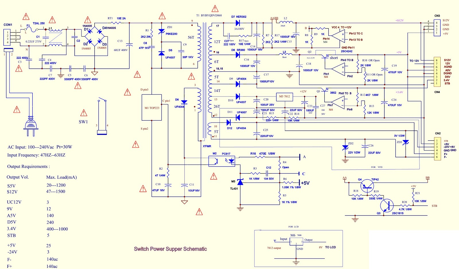 darwoo+dvg+series+power+supply.bmp daewoo dvg **** series dvd players schematic diagram [circuit