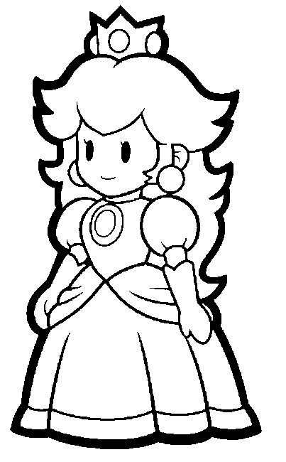 mega mario coloring pages - photo#15
