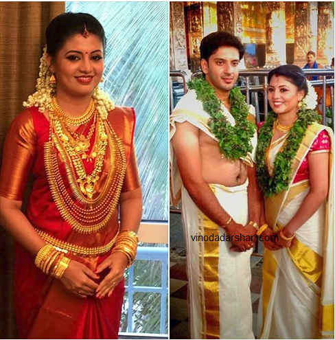 Actress Nimish Suresh wedding photos