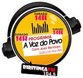 Programa A VOZ DO POVO - Rádio Biritinga Fm - 104.5