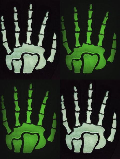 skeketon hands