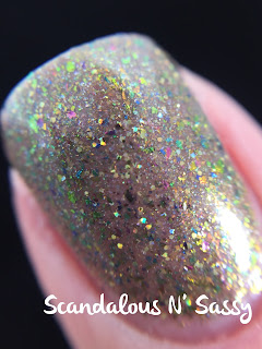 Darling Diva Polish Demons to Some, Angels to Others macro