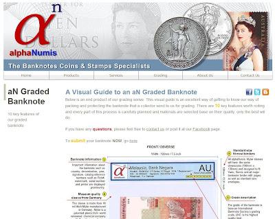 alphaNumis Banknote Coins Stamps