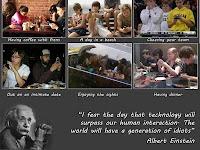 sisi negatif kemajuan teknologi dilihat dari sudut pandang interaksi sosial