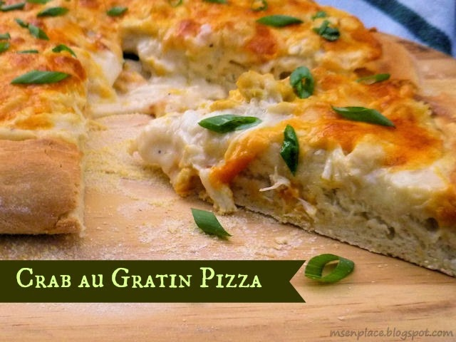 Crab au Gratin Pizza  |  Ms. enPlace