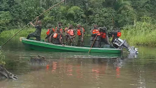 Operation Octopusgrip: Navy storms Niger Delta with 7 ships, 37 boats