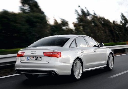 6 of 7 - 2012 Audi A6 Rear Angle Pictures