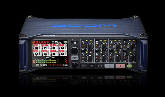 Zoom: F8 MultiTrack Field Recorder