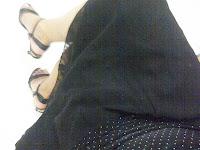 rok bahan chiffon