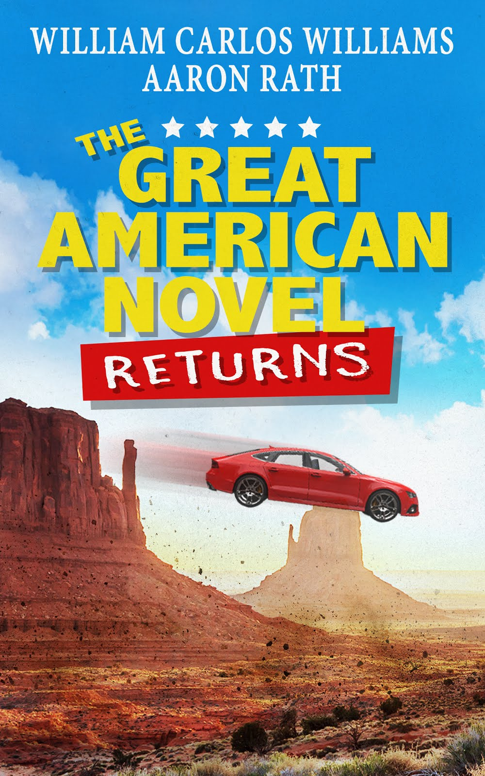My previous novel: <i>The Great American Novel Returns</i>