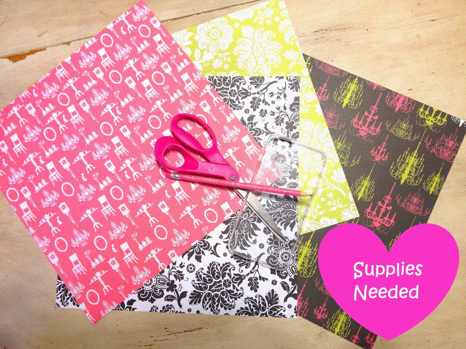 Scrapbook paper case - To Start With Lay Your Case On The Paper Wherever You Desire Face Up I Would Suggest You First Use A Thick Piece Of Scrapbook Paper Make It Fit Perfect