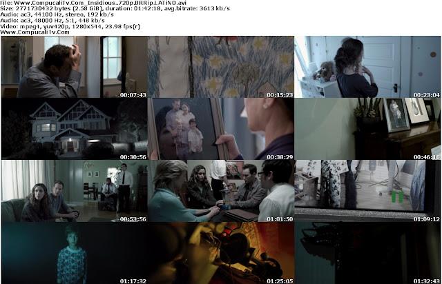 Insidious [La Noche del Demonio] BRRip [720p HD] Español Latino Descargar