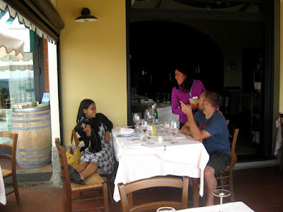Relaxing Lunch with New Friends at Ristoro di Lamole in Lamole, Italy | Taste As You Go