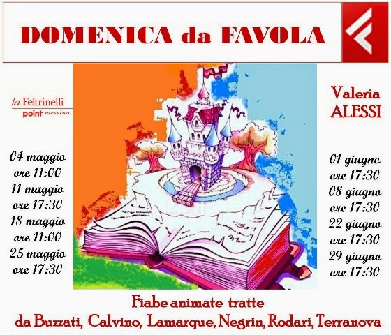 DOMENICA DI FAVOLE ANIMATE AL FELTRINELLI POINT