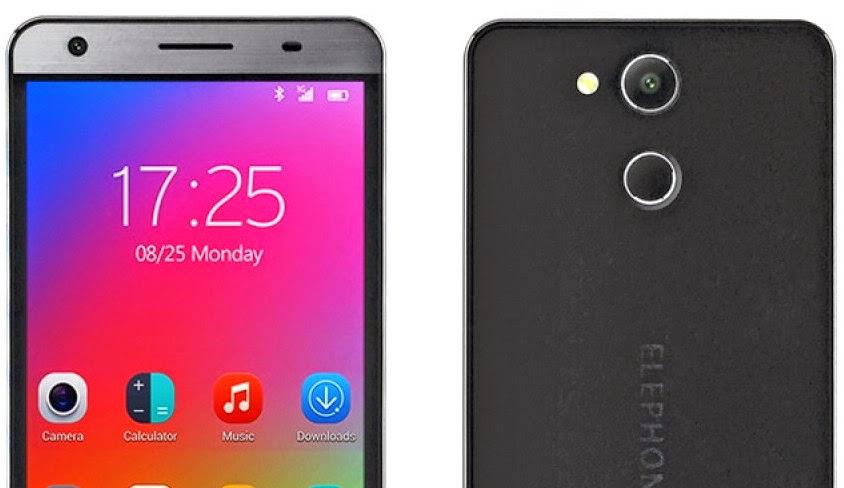 Elephone P7000, Smartphone Murah Dengan Pemindai Sidik Jari