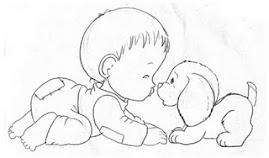 Babys e Dogs - uma parceria encantadora