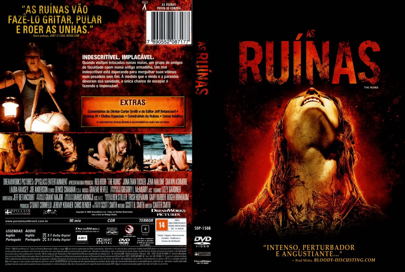 Ruínas DVD Capa