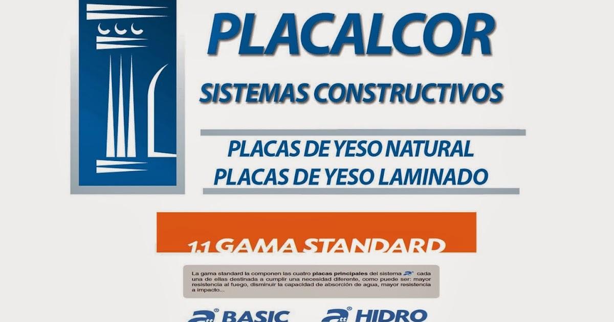 Placalcor sistemas constructivos placas de yeso natural - Placas de yeso laminado ...
