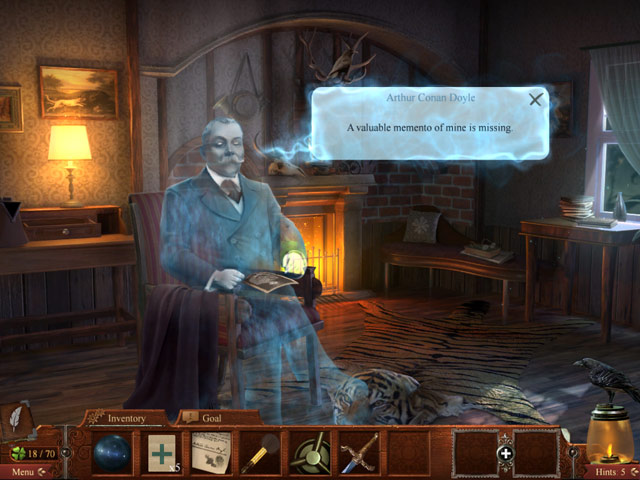 Midnight Mysteries: Haunted Houdini Deluxe Screenshot 1