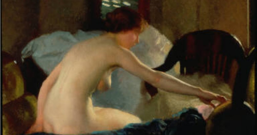 William MacGregor Paxton on Painting