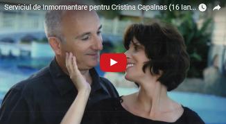 VIDEO: Serviciu de înmormântare pentru Cristina Cãpâlnaş (16 Ianuarie 2017)