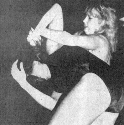 Judy Martin vs Susan Sterling - Wrestling