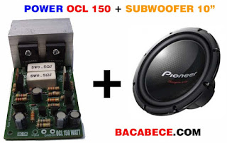 power ocl 150 untuk subwoofer