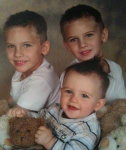 our 3 boys