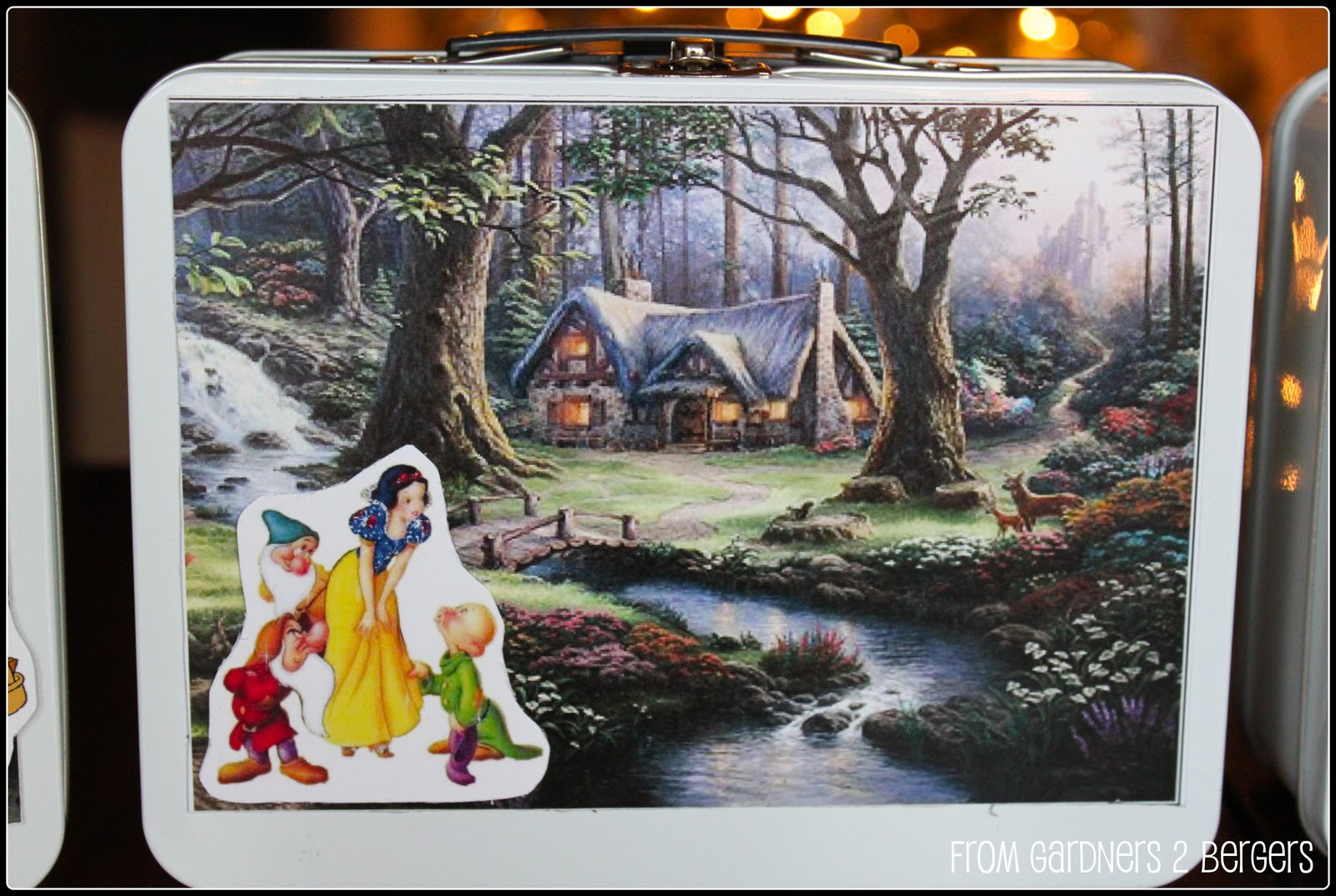 Magnetic Play Sets [Disney Characters+Backgrounds]