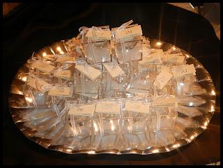 torta e confetti per le nozze d'argento di anna e ignazio